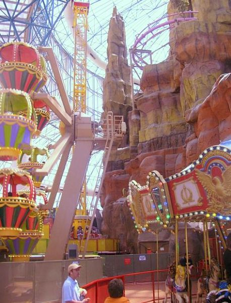 Adventuredome weekend getaway Las Vegas