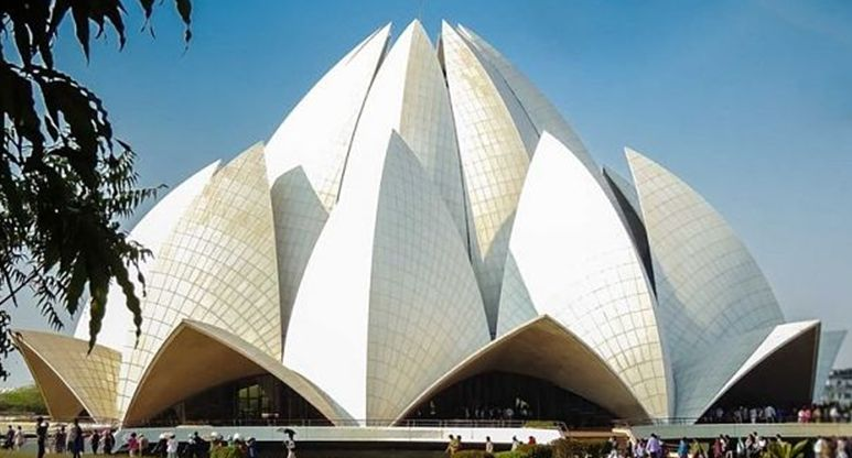 Bahai Lotus Temple site seeing places in Delhi