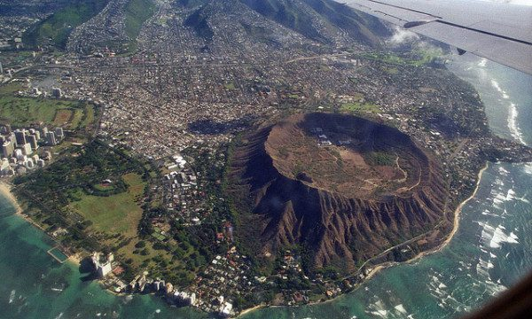 Hawaii romantic getaways Diamond Head Crater