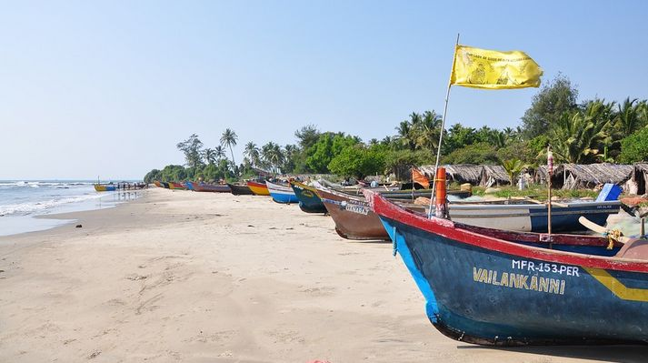 India travel the beaches