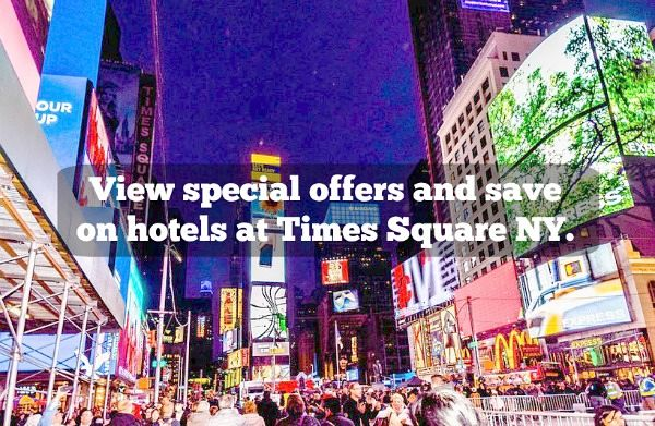 NYC hotel deals times square
