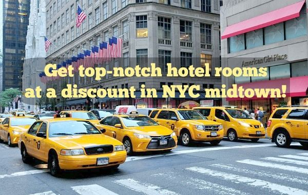 NYC hotel deals midtown