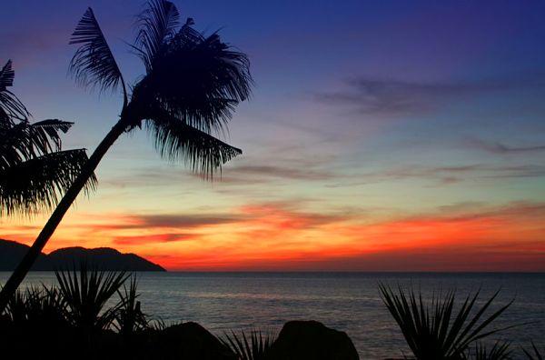 Penang Malaysia sunset