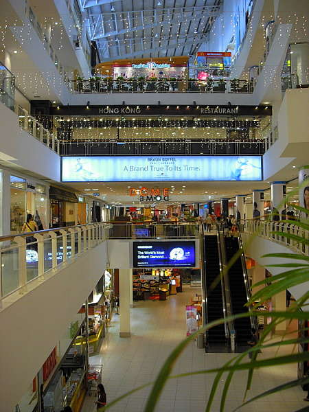 Penang shopping mall
