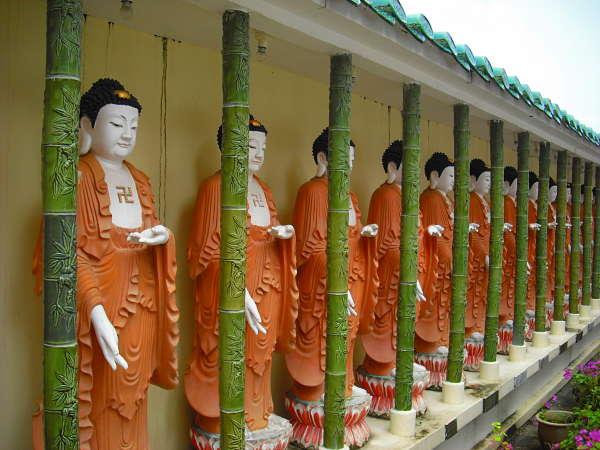 Pulau Penang Kek Lok Si Buddhas