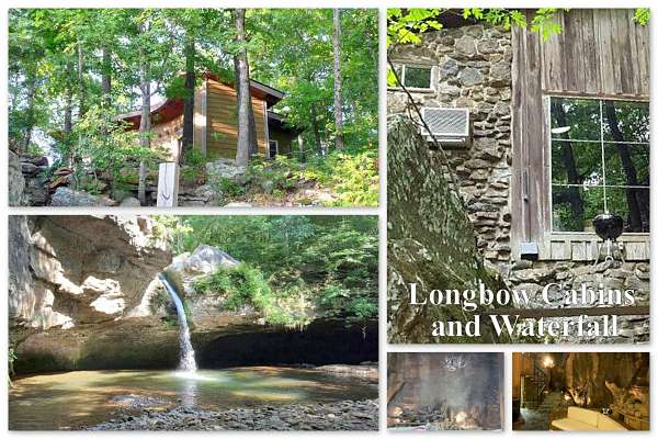 Romantic cabin getaways in Arkansas