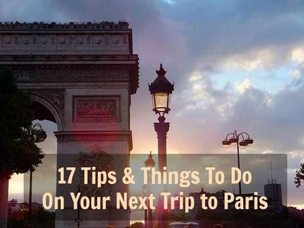 Tips Paris Getaways
