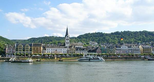 Boppard Germany and the Rhine river