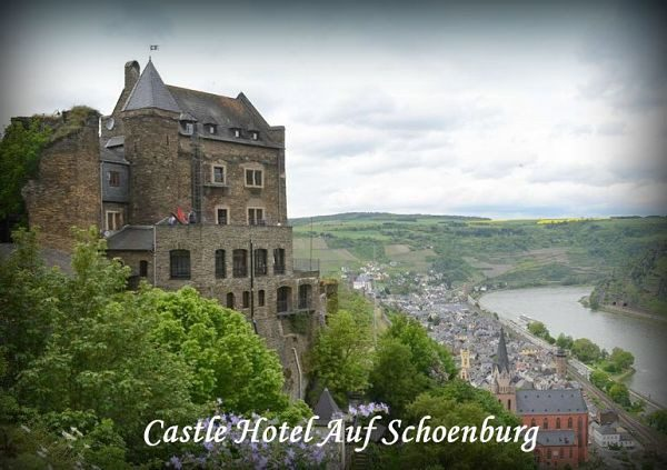 Castles To Stay In Germany Schoenburg Oberwesel
