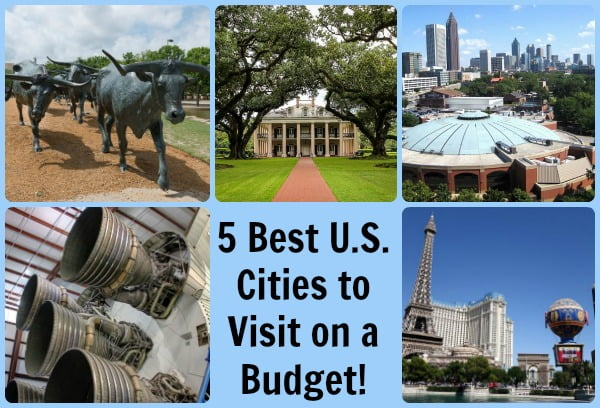 cheap places to travel in the US