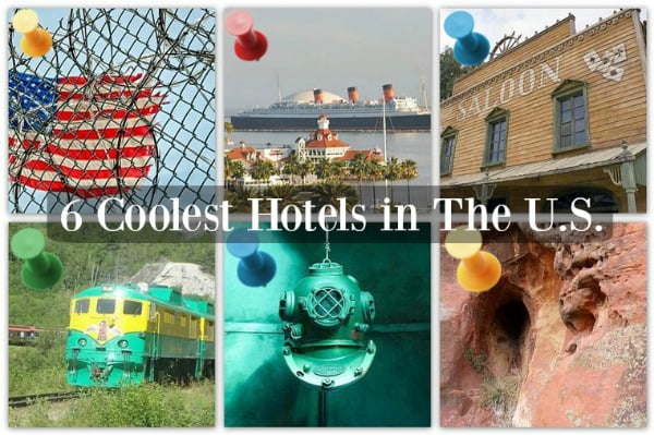 6 of the coolest hotels in the US