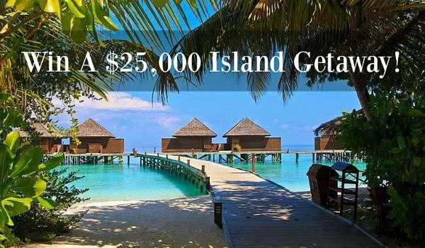 win a luxury island getaway