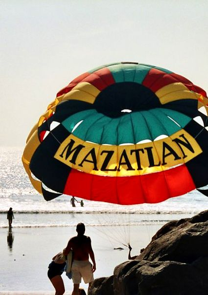 mazatlan at the beach
