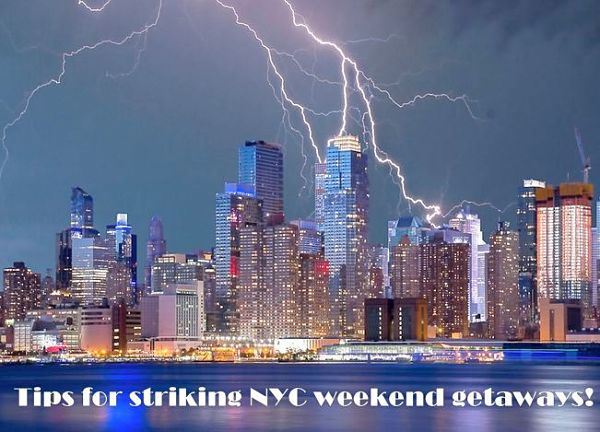 NYC weekend getaways