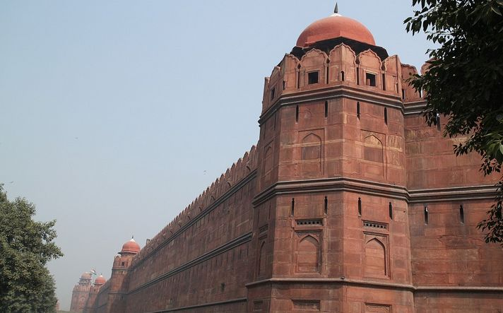places to see in Delhi: The Red Fort