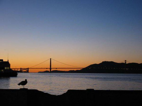Sunsets are for free on your romantic getaways in San Francisco