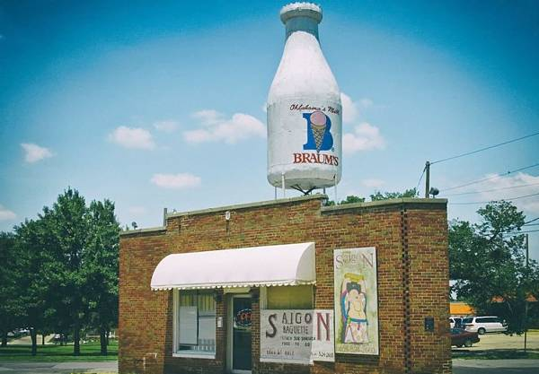route 66 Milk Bottle Building Oklahoma City