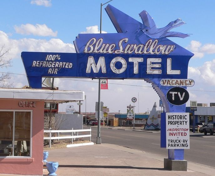 visit the Blue Swallow which has been around from 1939
