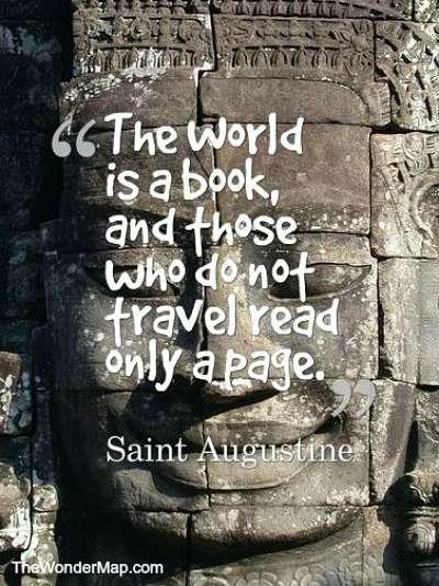 saint augustine travel quote