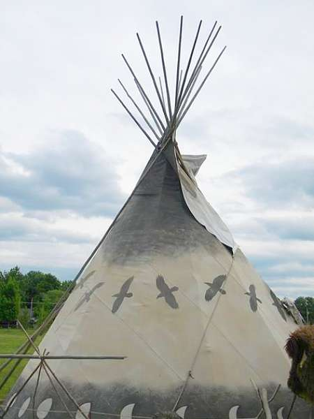For Pictures of authentic indian tee pees consider