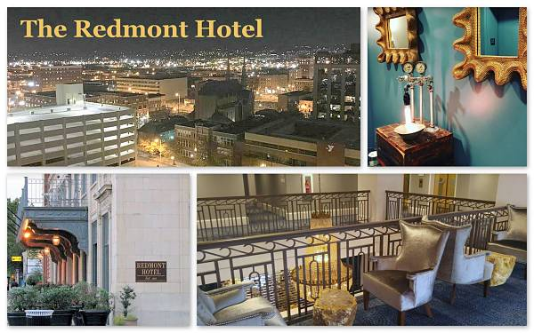 weekend getaways Alabama at The Redmont Hotel